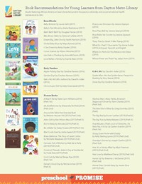 Photo of Book Recommendations Flyer